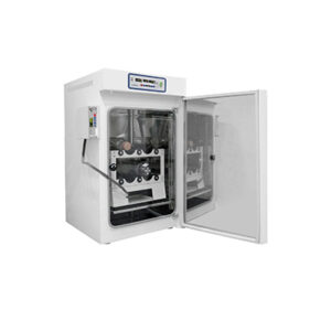 CO2 incubator with a roller