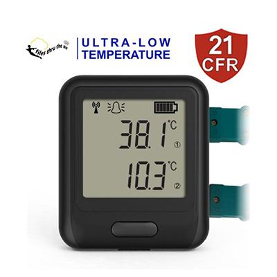 Dual Channel ULT 21CFR WIFI temperature data logger