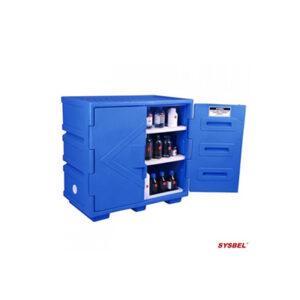 SYSBEL's 83L Polyethylene Corrosive Cabinet