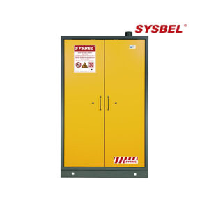 SYSBEL's 170L, double door 30 Minutes Fire Resistance cabinet