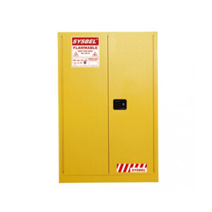 170L Flammable cabinet, 2 door manual